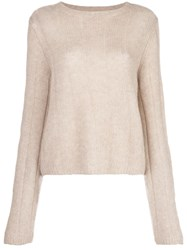 Khaite Nelley Ribbed Relaxed Fit Jumper 60