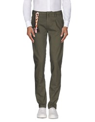 Truenyc. Trousers Casual Trousers Men Military Green