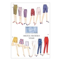 Vogue Women's Shorts And Trousers Sewing Pattern 9189