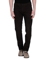 Individual Denim Pants Dark Brown