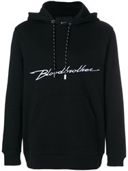 Blood Brother Accelerate Hoodie Cotton Black