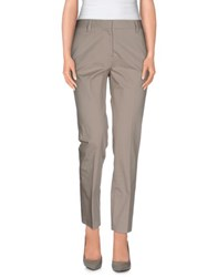 Irma Bignami Trousers Casual Trousers Women Grey