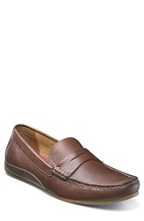 Florsheim Men's Oval Driving Shoe Cognac Leather