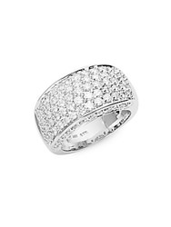 Saks Fifth Avenue Diamond And 14K White Gold Ring