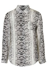 Olivia Python Print Blouse By Goldie Multi