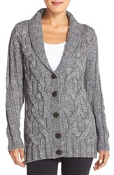 Women's Ugg Australia 'Margie' Cable Knit Shawl Collar Cardigan