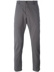 Ymc Slim Fit Trousers Grey