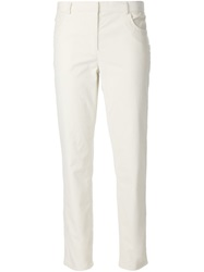 The Row Cropped Jeans White