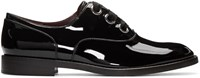 Marc Jacobs Black Patent Leather Helena Oxfords