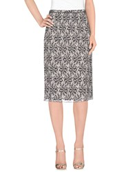 Kristina Ti Skirts 3 4 Length Skirts Women Grey