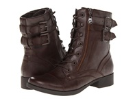 G By Guess Barb Brown Women's Lace Up Boots