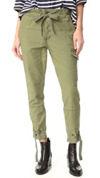 Free People Don't Get Lost Utility Pants Moss