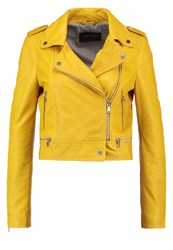 Oakwood Leather Jacket Light Yellow
