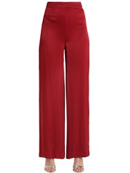 Cameo Wide Leg Satin Pants