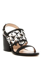 French Connection Cielo Chunky Heel Sandal Black