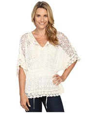 Scully Sweet Summer Top Cover Up Natural Women's Clothing Beige