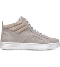 Kg By Kurt Geiger Phoebe High Top Trainers Grey