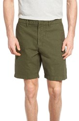Nordstrom Men's Big And Tall Men's Shop Washed Shorts Green Forest