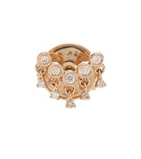 Stone Paris Talitha 18Kt Pink Gold Diamond Earring