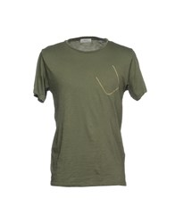 Authentic Original Vintage Style T Shirts Military Green