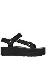 Teva 40Mm Nylon Strap Wedges Black
