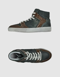 Keep High Top Sneakers Green