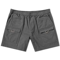Acne Studios Rosso Garment Dyed Cargo Short Grey