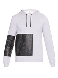 Balenciaga Panelled Hooded Sweatshirt