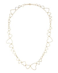 Fragments For Neiman Marcus Multi Size Heart Necklace Gold