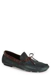 Bugatchi 'Lucca' Driving Moccasin Men Teal Suede