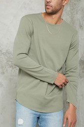 Forever 21 Thermal Knit Tee