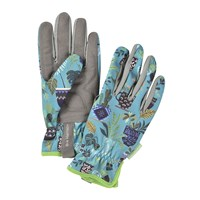 Burgon And Ball Brie Harrison Gardening Gloves Blue