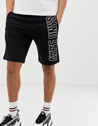Aape By A Bathing Ape Shorts With Logo Print In Black