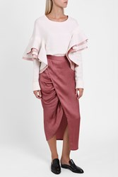 Sies Marjan Gather Wrap Skirt Pink
