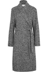 Alexander Wang T By Wool Blend Boucle Coat Black
