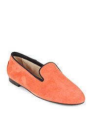 Tod's Italian Leather Shoes Coral