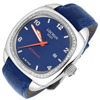 Locman 1970 Diamond Bezel Blue Automatic Watch