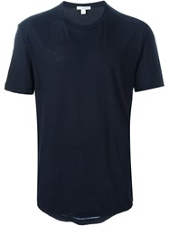 James Perse Classic T Shirt Blue