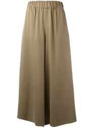 Dusan Cropped Palazzo Pants Nude Neutrals