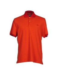C.P. Company Polo Shirts Orange