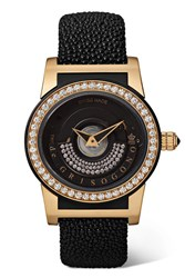 De Grisogono Tondo By Night S16 Automatic 43Mm 18 Karat Pink Gold Rose Gold