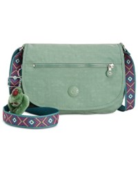 Kipling Edmund Medium Crossbody Leaf Green