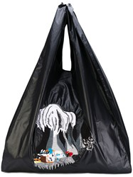 Aalto Oversized Tote Bag Women Polyester One Size Black