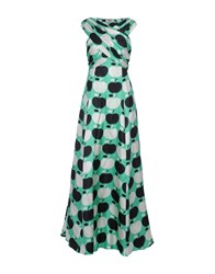 Moschino Cheap And Chic Long Dresses Light Green