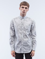 Staple Dot Camo Woven L S Shirt