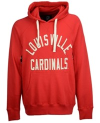 G3 Sports Men's Louisville Cardinals Motion Pull Over Hooded Sweatshirt Red