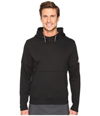 Adidas Sport Id French Terry Pullover Hoodie Black Men's Long Sleeve Pullover