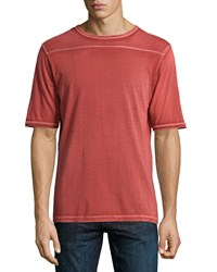 Dime City By Mercury Mfg. Co. Sixty Five Contrast Stitch Tee Red