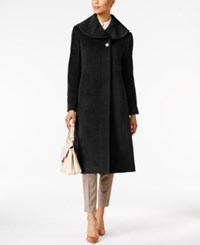 Jones New York Flyaway Maxi Coat Black