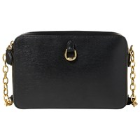 Ralph Lauren Bennington Camera Cross Body Bag Black